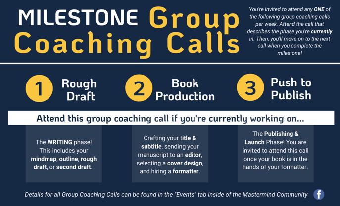 Milestone Group Coaching Calls - Explanation-1